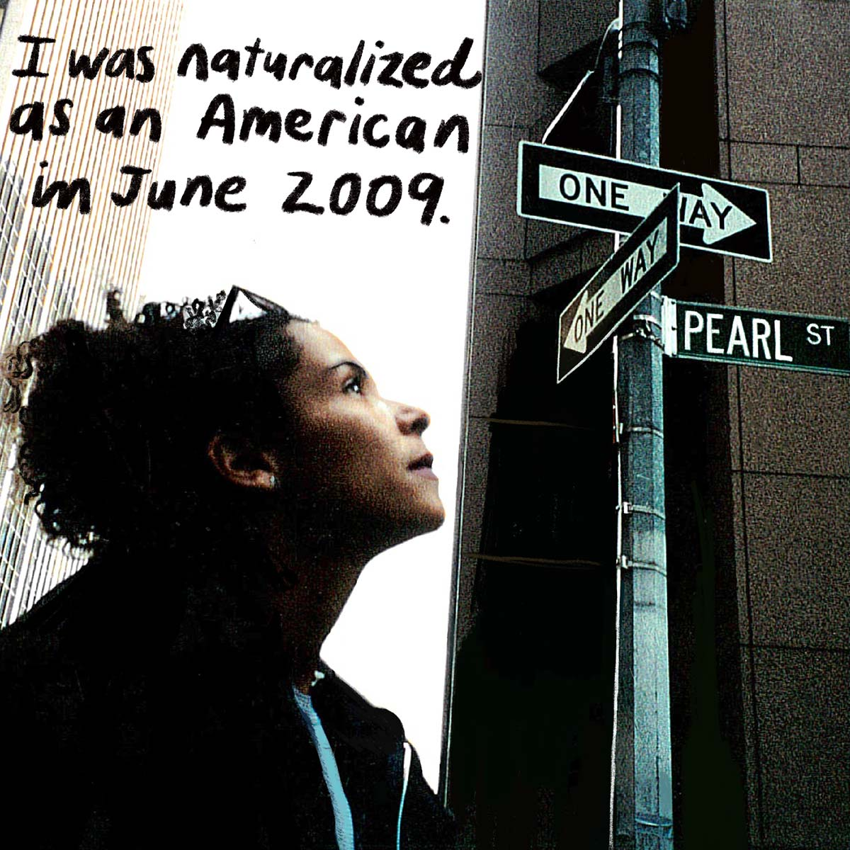 Mariane Pearl in New York City